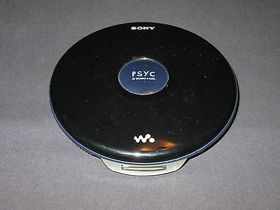 Sony Psyc CD Walkman Portable CD Player Model D-EJ010 (Black) TESTED + WORKING!