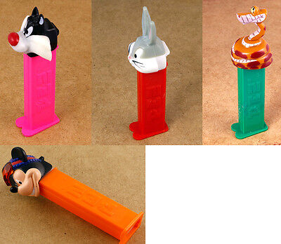 PEZ Lot of 4 Different