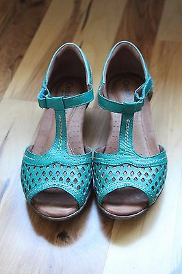 Cobb Hill Women's Alexa Ch Dress Teal Sandals
