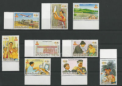 Swaziland 2008 The 40th Anniversary of  the Birth of King Mswati III. MNH