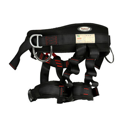 Safety Fire Rescue Tree Carving Rock Climbing Rappel Seat Sit Belt Harness