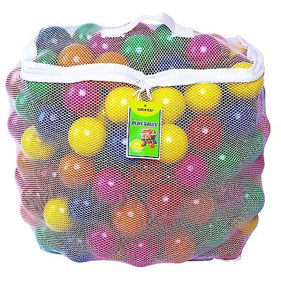 Kids Balls Crush Proof Ball Pit Tent Kiddie Pool Bounce House Play Time Fun 200