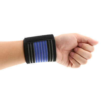 Sport Tennis Wrist Support Wrap Protector Band Bandage Compression Wristband