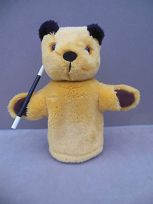 sooty hand puppet with wand golden bear product - sooty & sweep