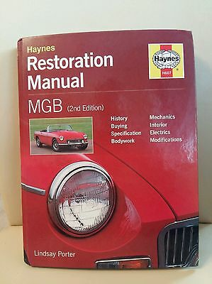 Mgb Restoration Manual Mg Restoration Workshop Manual Haynes Restoration Manual