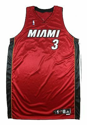 Dwayne Wade 2007-2008 Miami Heat Game Team Issue Nba Alternate Jersey