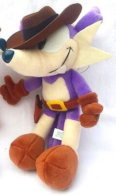 SEGA Sonic The Hedgehog Fighters Fang / Nack Soft Plush Toy Doll Figure Game