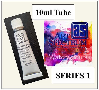 ART SPECTRUM FINEST ARTIST CHINESE WHITE WATERCOLOUR 10ml TUBE SERIES 1