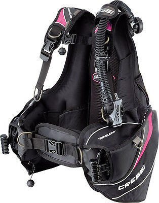 Cressi Travelight XS BCD Pink