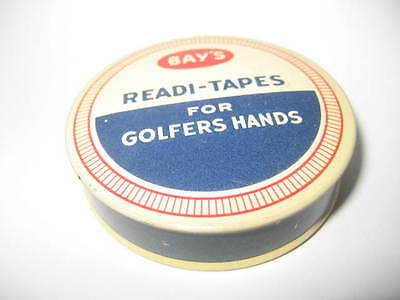 Vintage Tin  For Golfer  Readi Tape  Golf  Unused With Contents
