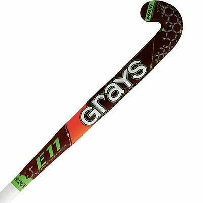 Grays E11 DynaBow 2015 Composite Outdoor Field Hockey Stick Size 37.5""