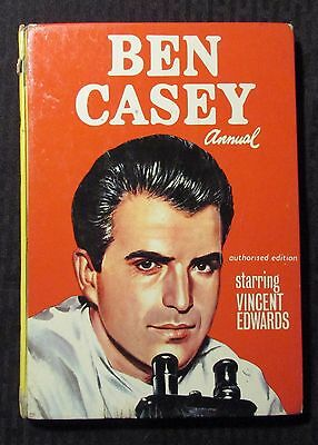 1963 BEN CASEY Annual VG 4.0 UK HC - Unclipped - TV Tie-In - Vincent Edwards