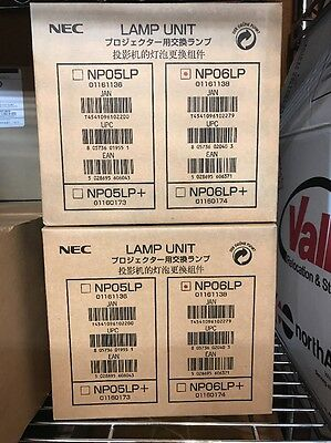 Genuine New NEC Projector Lamp NP06LP