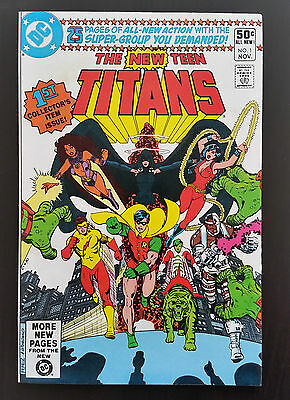 The New Teen Titans #1 (Nov 1980, DC)
