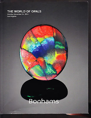 THE WORLD OF OPALS Bonhams Opal Lightening Ridge Boulder Aparicio Conti 2014