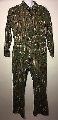 Men's WALLS Coveralls Realtree Hardwoods Camo Non-insulated Size 42-44 Regular