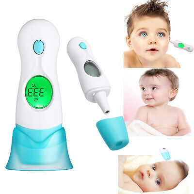 Baby Adult Digital Body 4in1 multi-function Ear Forehead Infrared IR Thermometer