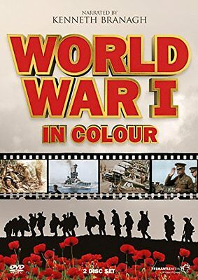 World War 1 In Colour - Complete TV Series [DVD] By Kenneth Branagh.