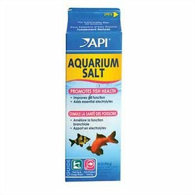 API Aquarium Salt, 33 Ounce (106B) Fish & Aquatic Pets Cleaners  Water] CXX