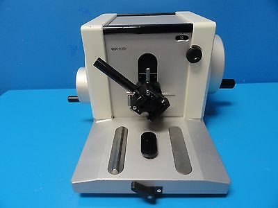 2004 Miro Tec Labortories Manually Operated Rotary Microtome CUT 4055 (11577 )