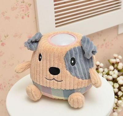 Hugglo Night Light Plush Puppy Dog Childrens Toy with Removable Lamp