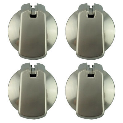 UK-35S4 Knob kit 35 mm Stainless x 4 with decal set