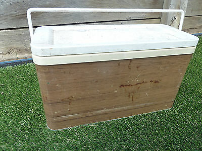 Small vintage metal ice box cooler, Lot 40, Pick up Langwarrin 3910