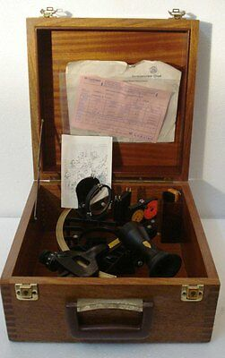 CASSENS & PLATH Marine Sextant - No. 32919  -  Made in GERMANY