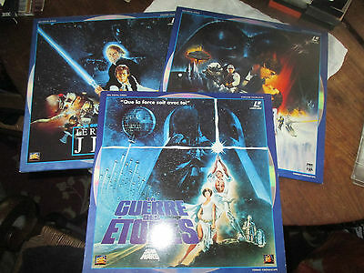 trilogie laserdisc star wars collector edition 1993