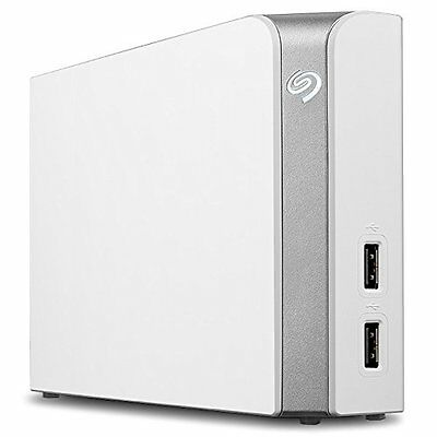 Seagate Backup Plus 8TB with USB Hub for MAC and PC* STEM8000400