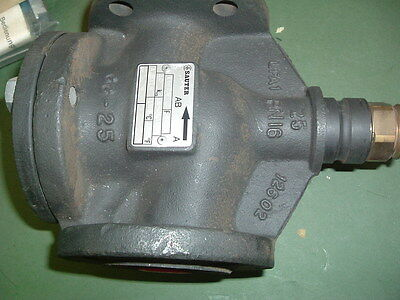 Sauter Gg 25 Valve Three Way Part V6F25 Complete With Blank Plate New