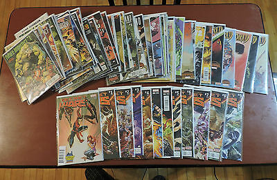 Secret Wars (2015) #1-9  Hickman/Ribic + variants + minis NM huge lot 65 issues!