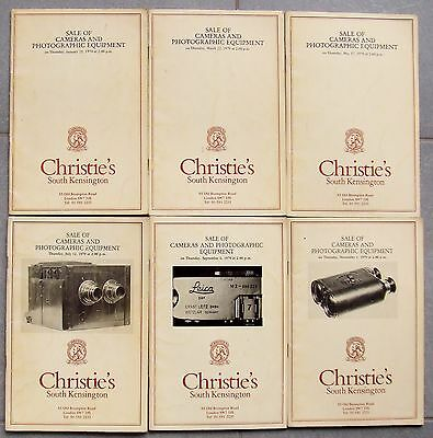Christies Cameras & Photographic Equipment Catalogues For 1979