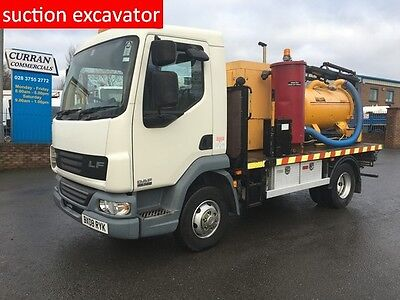 08 Daf LF 45 140 7.5Ton Suction Excavator Vacuum Utility Tank Vac Tron pmd350sd