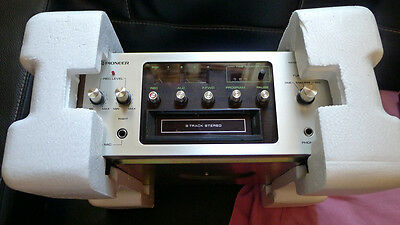Pioneer H-R 99 Stereo 8 Track Tape Deck Player Recorder, New Belt!