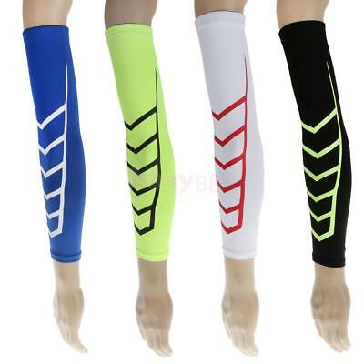 1pc Sport Cycling Basketball Compression Arm Sleeve Elbow Support Protector Gear