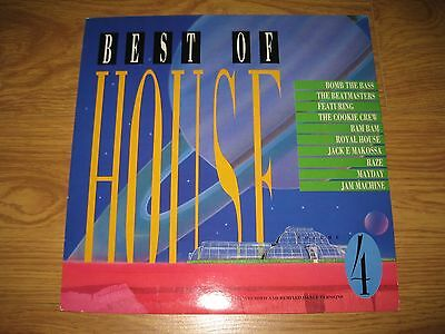 Best Of House volume 4 vinyl LP compilation house dance rave 1988