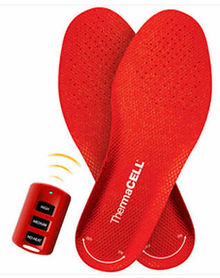 Thermacell Heated Insoles w/ Wireless Remote XXLarge- THS01XXL