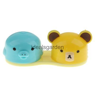 Cute Contact Lens Case Little Bear Contact Lens Container Travel Kit Case