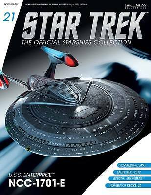 Star Trek Official Starship Collection Issue 21 USS Enterprise NCC-1701-E