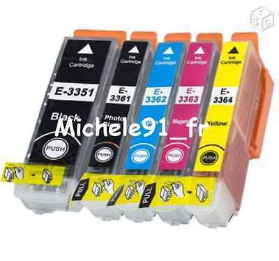 Pack de cartouches compatibles T3357 XL (non OEM) Epson Expression Premium XP630