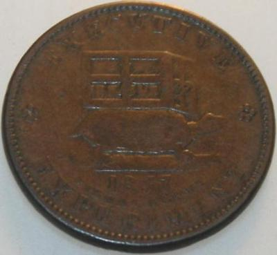 1837 Hard Times Token Illustrious Predecessor Executive Experiment [SN02]
