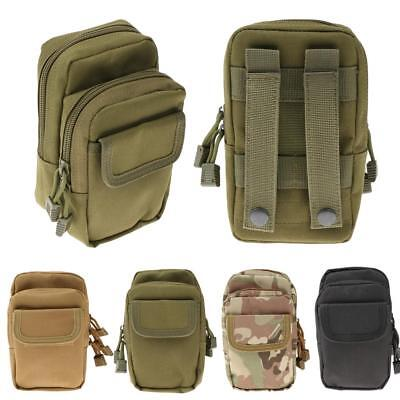 Mini Outdoor Waist Tactical Bag Molle Military Pouch Packs for Hiking Shopping