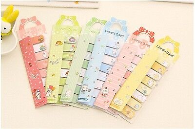 cute kawaii korean masking memo pad diary sticker note post it animal