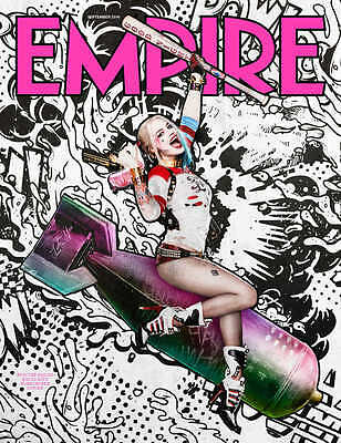 Empire Magazine September 2016 Suicide Squad Subscriber Issue Harley Quinn #327