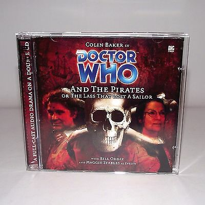 Doctor Who And The Pirates Big Finish CD 43 Deleted Audio book Drama 6th Dr