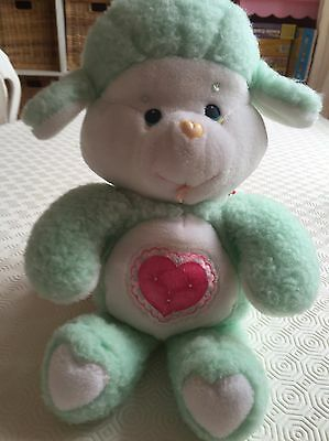 Vintage Care Bear Cousin Gentle Heart Lamb 1986 Plush
