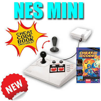 NES Mini - Arcade Stick Controller von Steelplay NEU & OVP + Cheat/ Code Book!