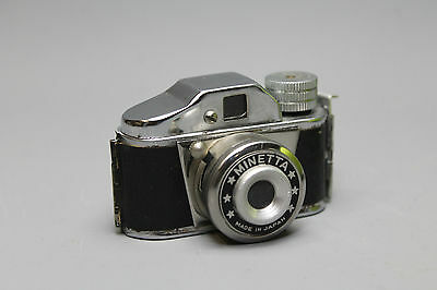Vintage Minnetta Made in Japan Subminiature Camera in Good Condition & Working
