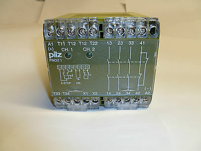 Pilz Pnoz 1 Dual Channel Safety Relay 24 Volt Dc (Brand New In Box)